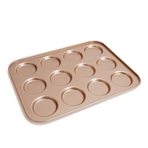 MyLifeUNIT Nonstick 12-Cavity Whoopie Pie Pan 14 inch x 10-1/2 inch