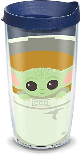 Baby Yoda Tervis Tumbler IN STOCK on Amazon **TOO Cute**