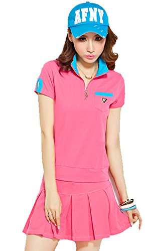 前述のご予約オゾン(ケイミ)KEIMI レディース ゴルフウェア テニスウェア ポロシャツ ミニスカート 上下セット ゴルフウェア スポーツ 野球 アクティブウェア アウトドア かわいい おしゃれ 全4色
