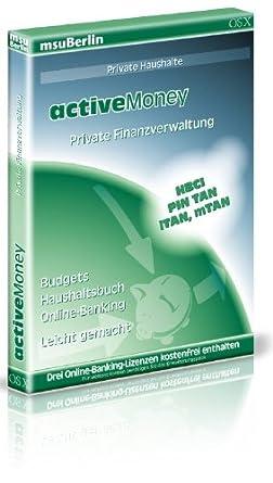 Activemoney Haushaltsbuch Und Online Banking Fur Den Mac Amazon