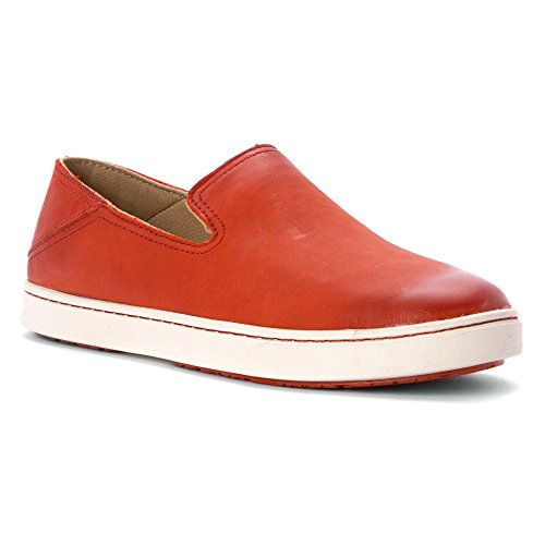 OluKai Slip Orange Women's On Kailua Blood zzrpf