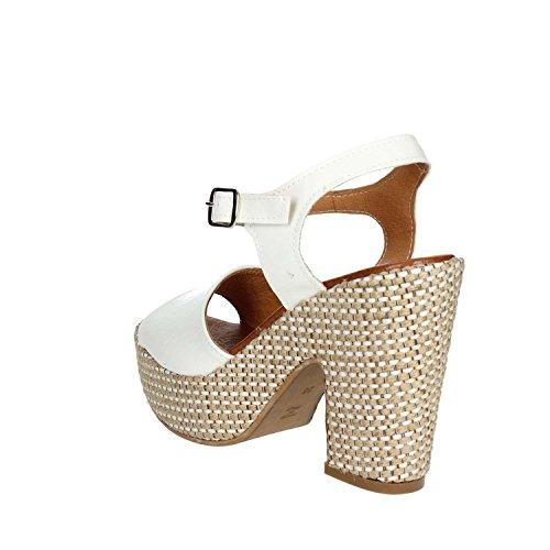 Sandale f002 Pregunta Pz6579 Femme Blanc vYEUqw