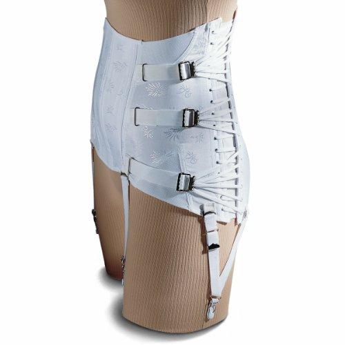 Women's 3-Pull Side-Lace Lumbosacral Lower Back Brace Cor...