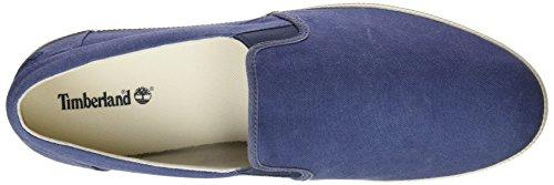 Timberland Newport Bay Canvas Plainblue/Vintage Indigo, Sneakers Basses Homme, Bleu (Blue/Vintage Indigo), 41 EU