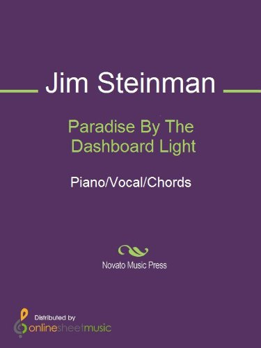 Amazon.com: Paradise By The Dashboard Light eBook: Jim Steinman ...