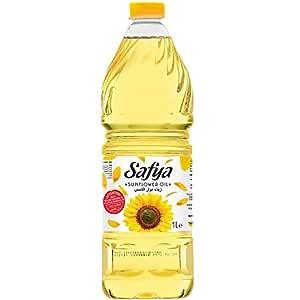 Safya - 100% Pure Sunflower Oil, (1 L) 33.8 Fl Oz