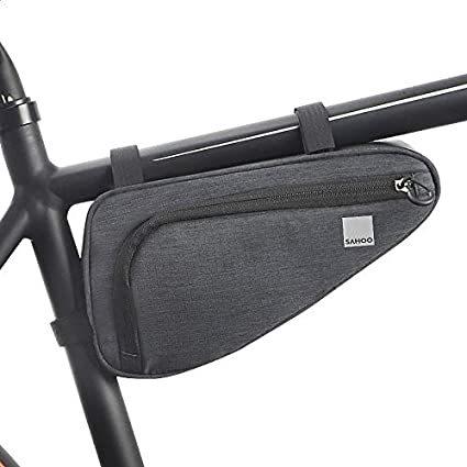 1.5L Bike Frame Bag Bicycle Triangle Bag Front Tube Water Resistant Cycling Pack