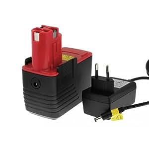 Batería para Bosch tipo/ref. 2607335252Li-Ion cargador incl., 14,4V, Li-Ion [batería herramienta electroportátiles]