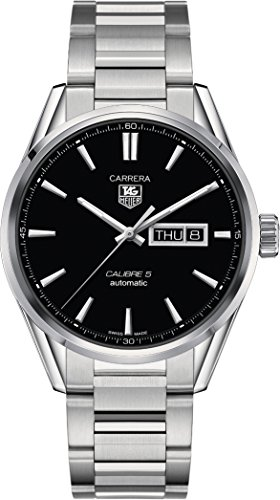 Tag Heuer Men's Carrera WAR201A.BA0723 Silver Stainless-Steel Swiss Automatic Watch