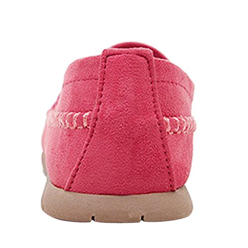 Estimado Time Slip On Mocasín Mocasín Zapatos Rose