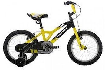Monty 104 - Bicicleta de montaña para niño, Color Amarillo, 12 ...