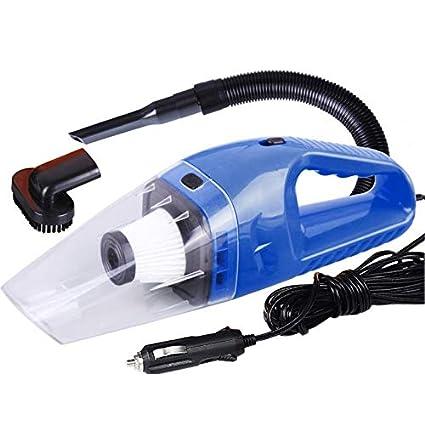 CamKpell Mini portátil de 12 V 120 W Potencia Aspirador de Doble ...