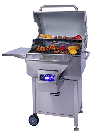 Smoke N Hot Eco Grill W Cabinet Wood Pellet Grills Reviews