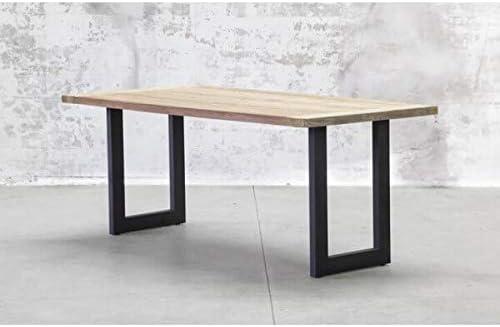 Mathi Design Atelier Table Repas Industrielle Amazon Fr