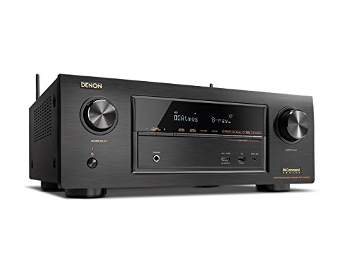 Denon AVR-X3300W 7.2 Channel Full 4K Ultra HD A/V Receiver with Built-In Wi-Fi and Bluetooth