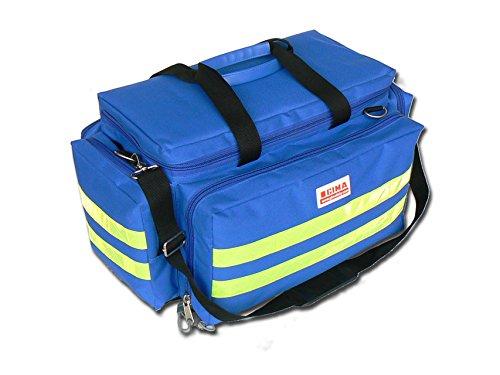 GIMA Smart Bag, tamañ o mediano, color azul, emergencia, trauma, rescate, mé dico, primeros auxilios, enfermera, bolsa de bolsillo paramé dica, 55 x 35 x 32 cm tamaño mediano médico bolsa de bolsillo paramédica 27152
