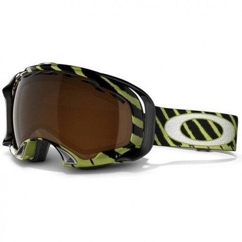 (Oakley Unisex-Adult Splice Snow Goggles (Shaun White Splice Enamel Mint w/Black, One Size))