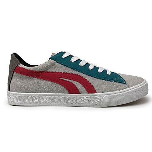 Sneakers Primavera Xue Piatti up Lace Traspiranti Da Mocassini Casual Comfort Tela Uomo In C Corsa Autunno Scarpe HwxqnrAH6v