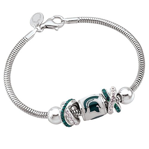 Persona Sterling Silver Michigan State University Beads and Charms by Persona