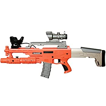 Image of BeswinVR NewScar VR Game Gun controller with Haptic Feedback Orange Version- Compatible with HTC Vive Pro 2.0,1.0| Valve Index| Pimax 5K 8K VR Headset Virtual Reality (Trademark Protected) Games