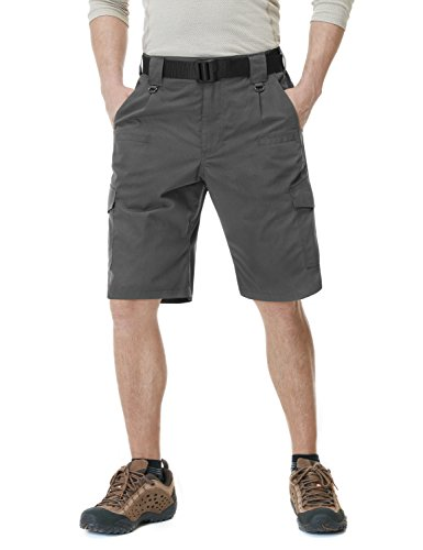 CQR CQ-TSP202-CHC_36 Men's Tactical Lightweight Utiliy EDC Cargo Work Uniform Shorts TSP-202