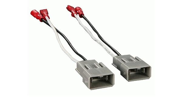 Fits GMC Sierra Classic 1999-2000 2 Door Carxtc Speaker Connection Plugs for Replacing Factory Front Door 6.5 Inch Speakers