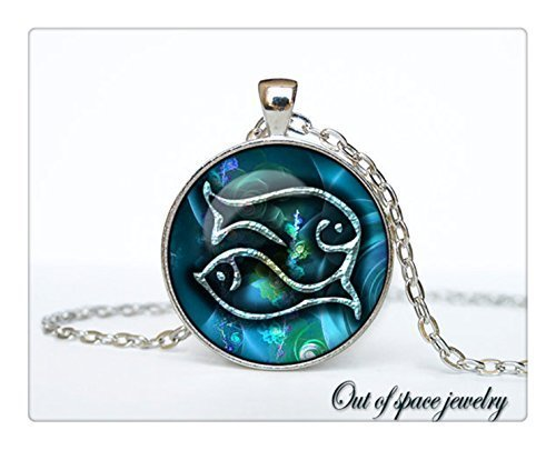Pisces necklace pisces pendant pisces jewelry zodiac sign pendant pisces necklace pisces pendant pisces jewelry zodiac sign pendant constella mozeypictures Choice Image