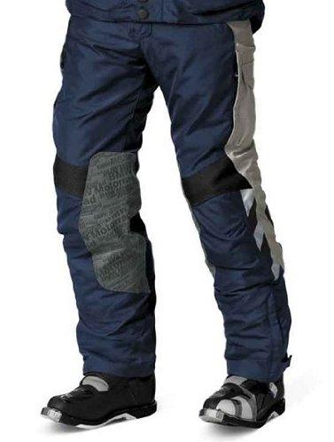 (BMW Genuine Motorcycle Motorrad Rallye pants, men's - Color: Blue / Grey - Size: EU 46 US 36)