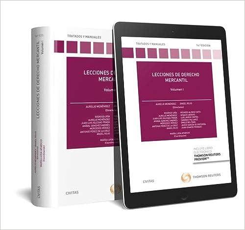 Lecciones De Derecho Mercantil - Volumen I (+ E-book) por Aurelio Menéndez Menéndez epub