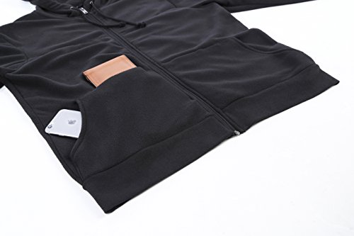 SCOTTeVEST Hoodie Microfleece - 10 Pockets – Comfortable Travel Clothing