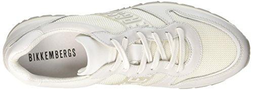 Bikkembergs Damen Kate 853 Sneaker Bianco Sporco (ice)