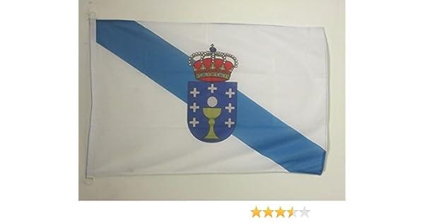 AZ FLAG Bandera de Galicia 90x60cm Uso Exterior - Bandera GALLEGA ...