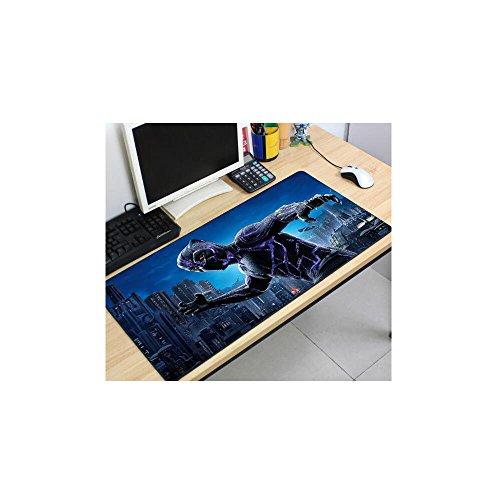 Large Black Panther Keyboard Mat Gaming Mouse Pad Desk Mat Table Mat 1223