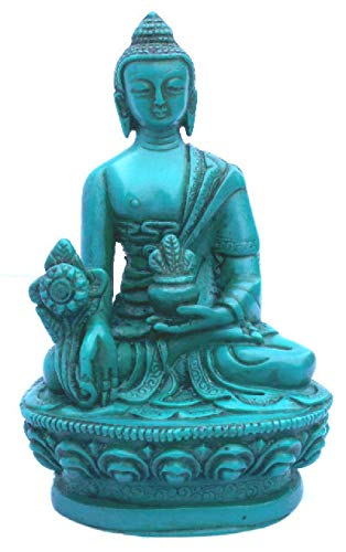 Medicine Buddha Turquoise Color for Healing, Meditation and Alter