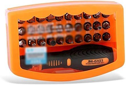 LilyAngel 31-in-1ハードウェアキット多機能ドライバーセットコンピューターツールキット精密ドライバー