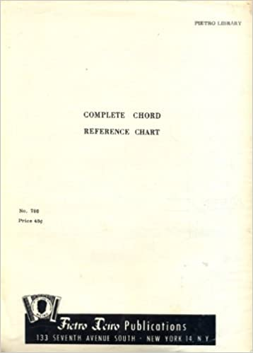 Complete Chord Reference Chart For Piano Accordion Peitro Library