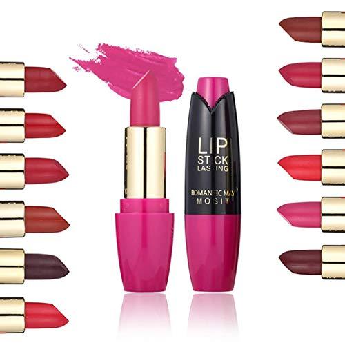 Lips Color Cosmetics Long Lasting Matte No Fade Moisturizing Lipstick Makeup Kit
