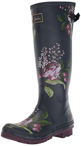 Floral Rain Artichoke Wellyprint Joules Navy Women's French Boot 8gWvWBEq