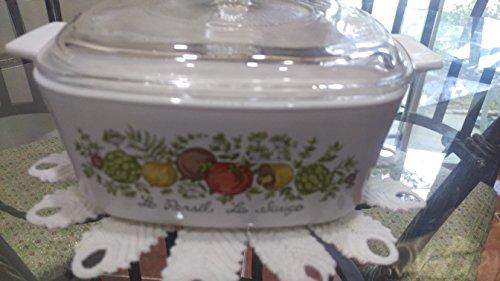 Spice of Life Vintage Corningware Square Casserole Dish-1.5 Qt. Vintage Corningware Spice