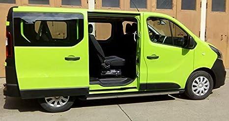 Reposapiés para Renault Trafic L1-H1 y L1-H2 (Modelos a Partir de 2014), Color Negro: Amazon.es: Coche y moto