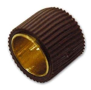 Estante de cobre amarillo con goma Art. 2077 de Brown conf. 200 PC