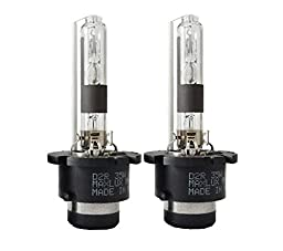 MAXLUX HID Xenon Bulbs D2R (1 Pair, Natural Yellow)