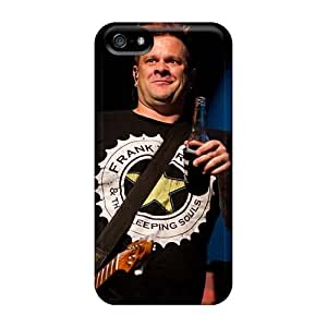 Excellent Hard Phone Cases For Iphone 5/5s (AIy8595SUrm) Support Personal Customs Colorful Bowling For Soup Band Pictures