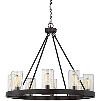 this item savoy house inman 8light outdoor chandelier in english bronze finish - Savoy Lighting