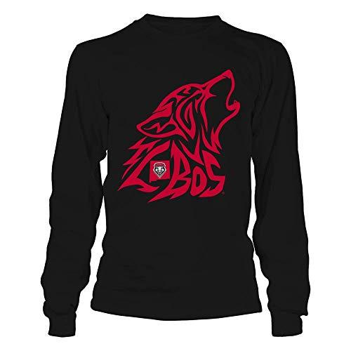 FanPrint New Mexico Lobos T-Shirt - Inside The Mascot - Longsleeve -