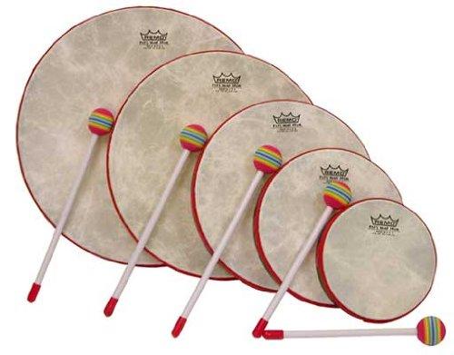 - Remo Kids 5 Piece Hand Drum Set with Mallets