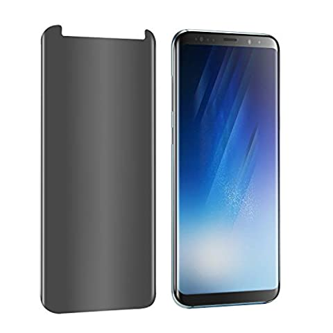 Galaxy Note 8 Privacy Glass Screen Protector (Full Screen Coverage), EVERMARKET 3D Curved Privacy Tempered Glass Screen Protector for Samsung Galaxy Note 8 2017 (Glass Privacy Screen For Note 4)