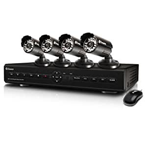 Amazon.com : Swann SWDVK-425504 S 4-Channel Digital Video ...