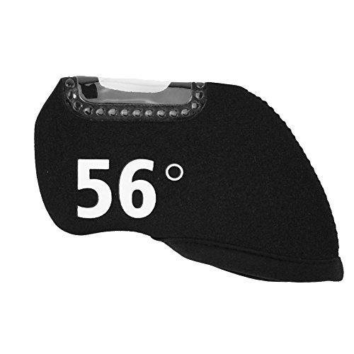 (Alomejor Neoprene Golf Irons Clubs Headcover, Fashionable Useful Golf Club Head Protective Cover(56°))