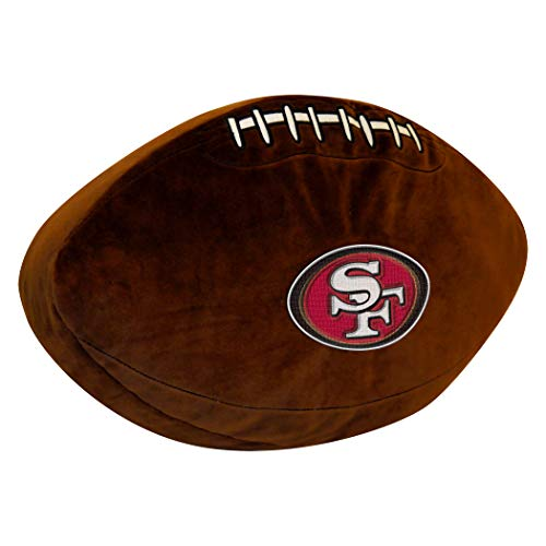 Officially Licensed NFL San Francisco 49ers 3D Sports Pillow